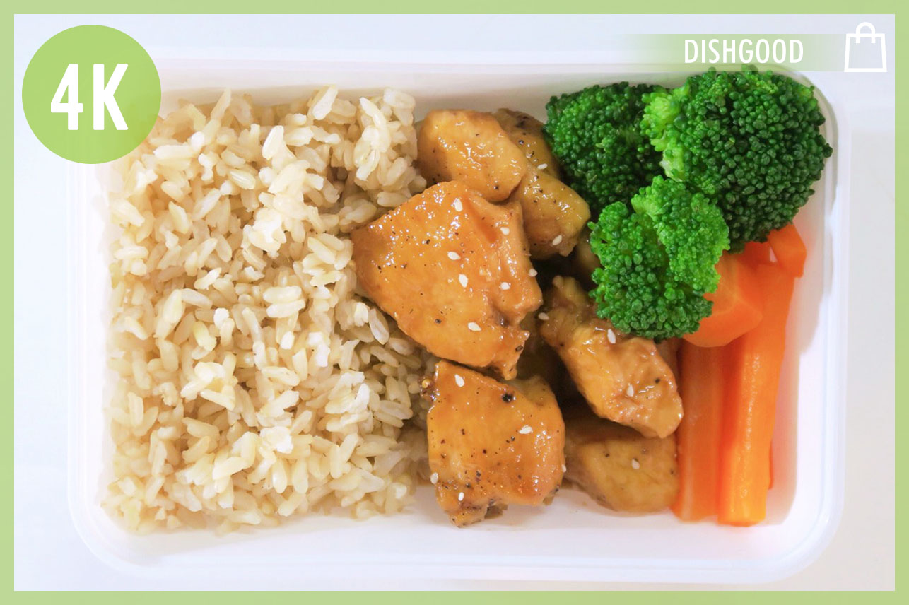 Chicken Breast Teriyaki & BrownRice