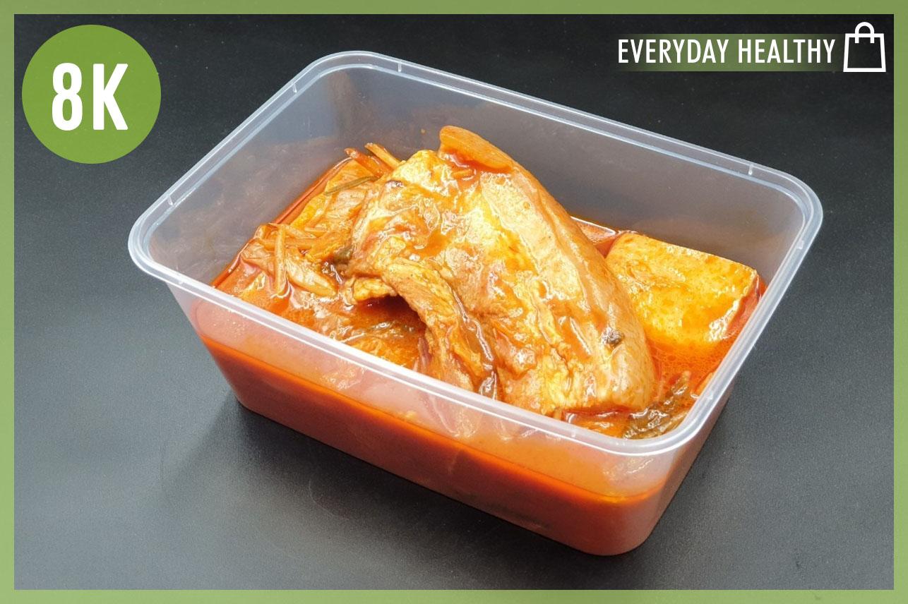 Keto Streaky Pork Korean KimchiSoup