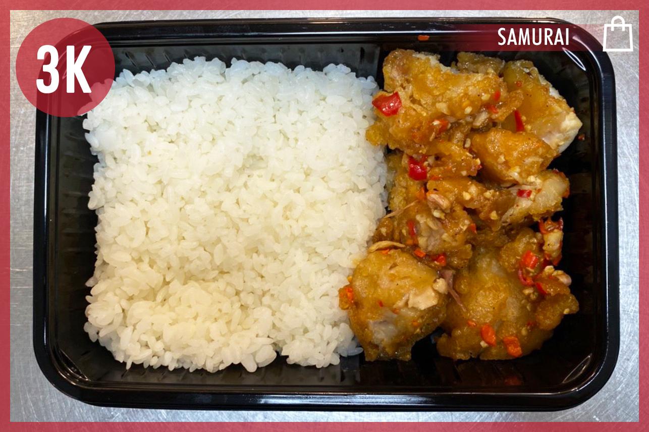 Fried Chicken W/ Chilli Jap. Rice
