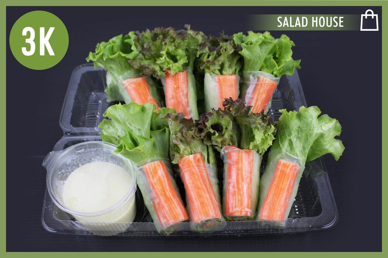Salad Roll Imitation Crab